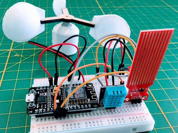 SAC-100: DiY Internet Weather Station with the NodeMCU - IoT