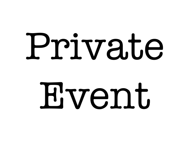 CANCELLED: Private Event