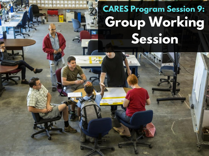 CARES Program Session 9: Project Working Session