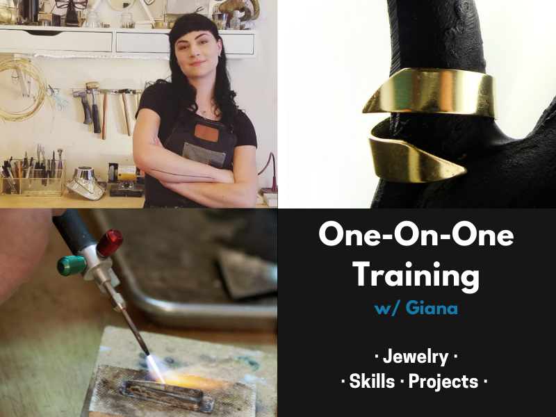 1on1 w/Giana - Jewelry Skills & Projects