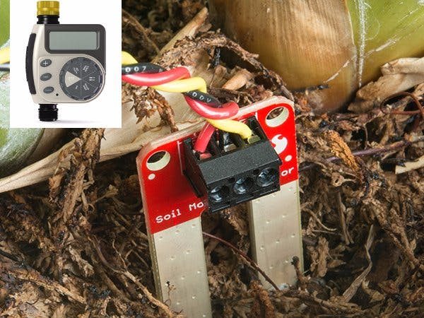 CANCELLED: Internet of Things (IoT): Make a solar powered moisture sensor for your home garden
