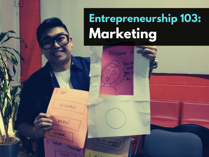 Entrepreneurship 103: Marketing