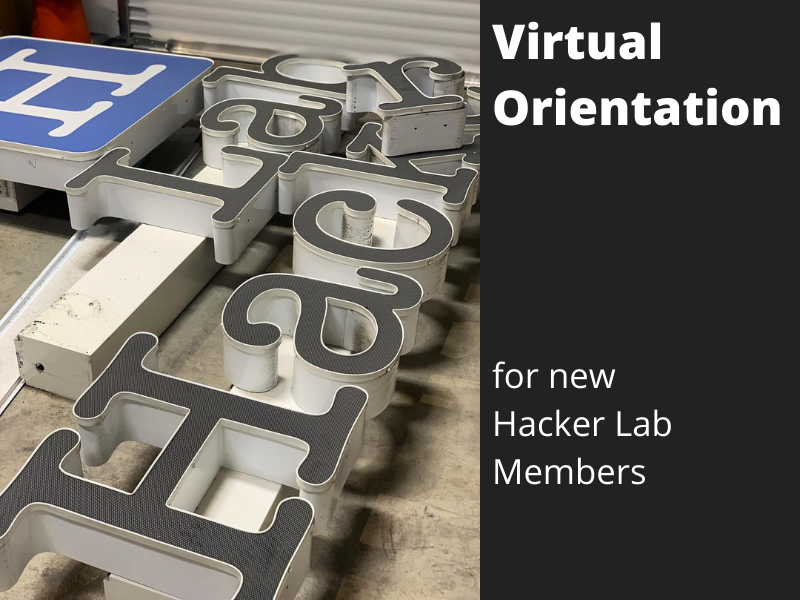 New Member Virtual Orientation