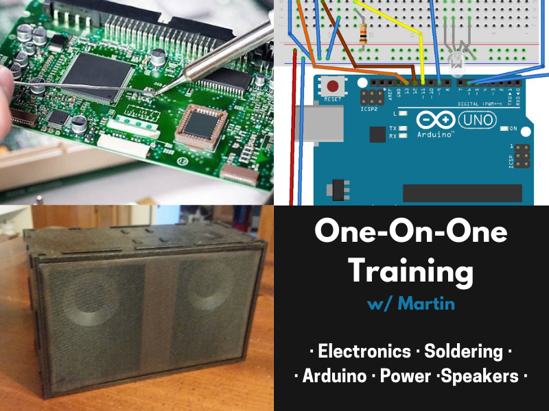 1on1 w/Martin - Electronics, Arduino, & more