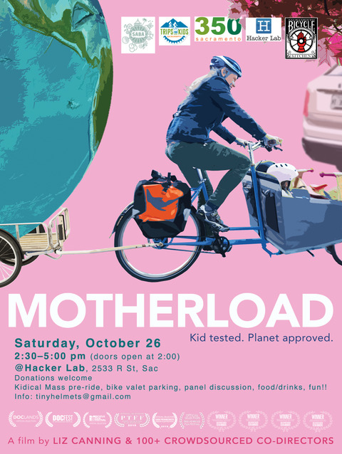 SAC-Special: Motherload Screening and Cargo Bike Event