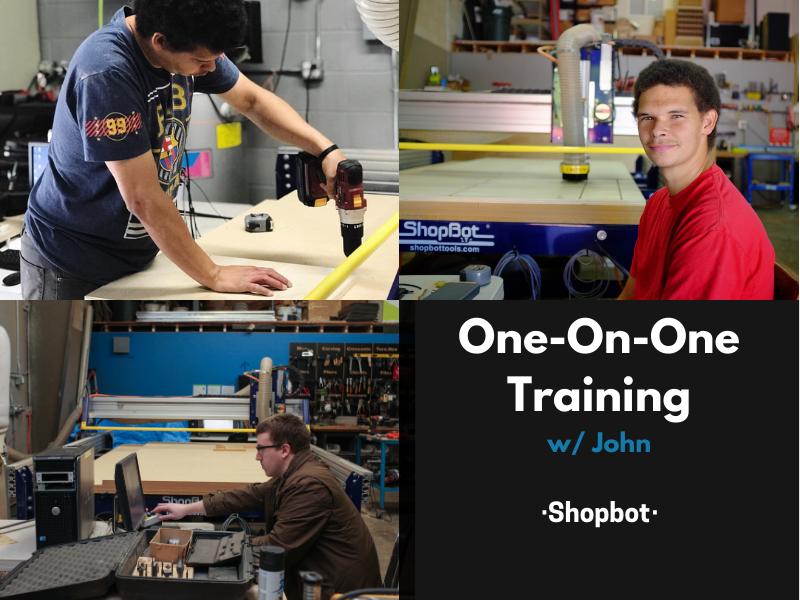 1on1 w/John - Shopbot