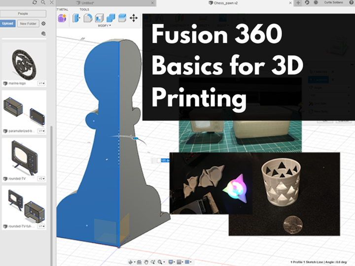 Fusion 360 Basics for 3D Printing
